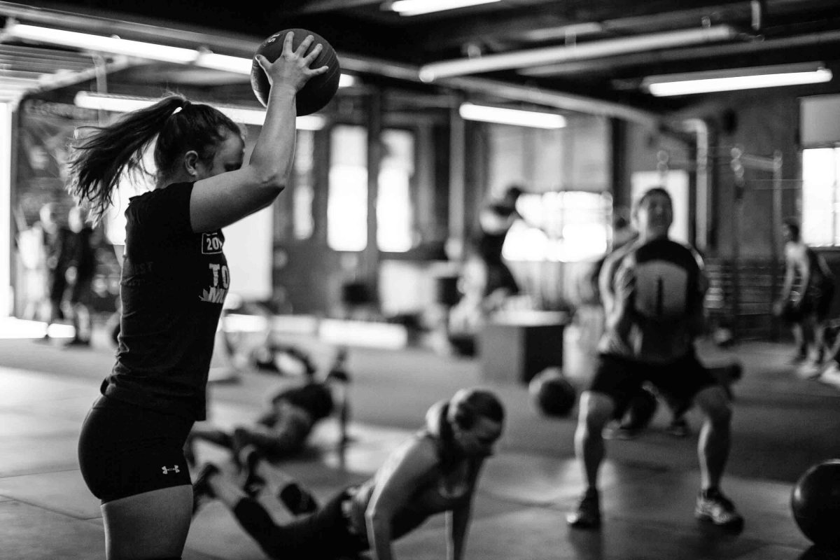Aula de CrossFit